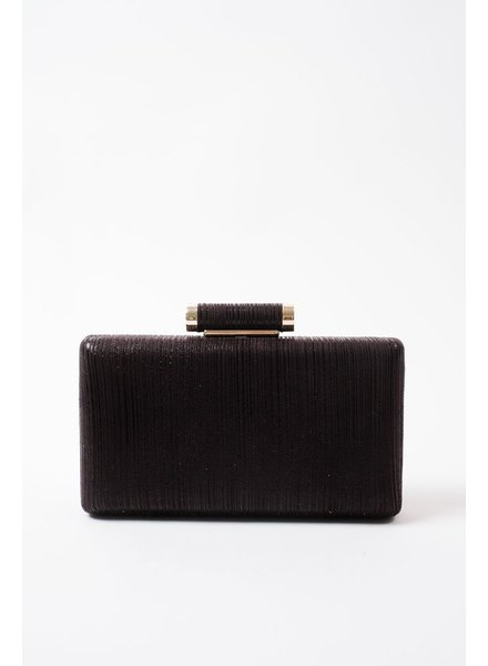 Clutch Black metallic clutch