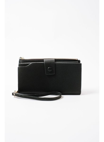 Wallet Black Bi-Fold Wallet