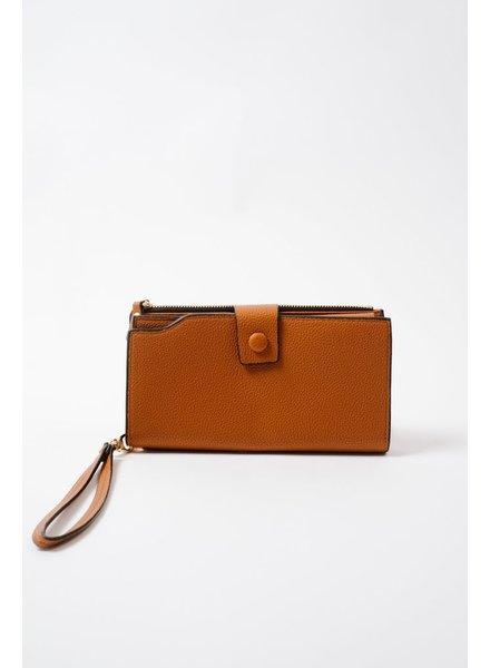 Wallet Cognac Bi-Fold Wallet