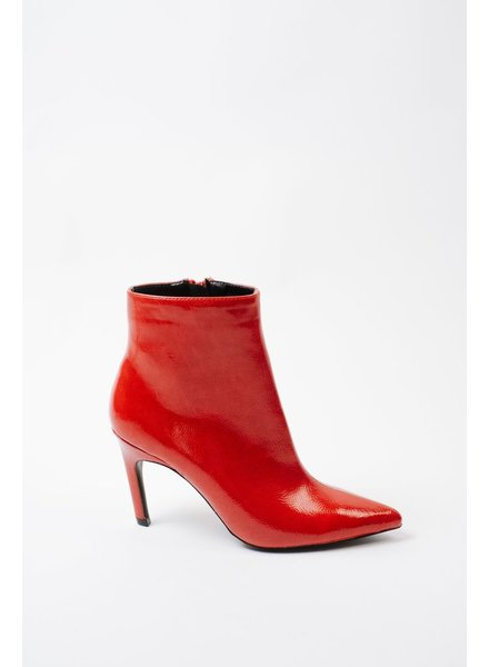 Bootie Red Patent Bootie