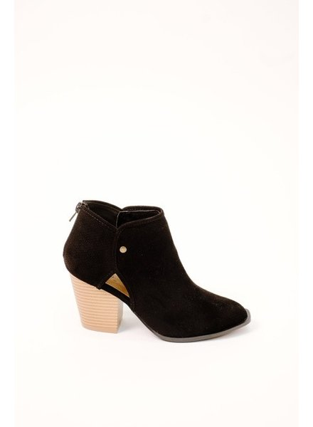 Bootie Cut-Out Ankle Bootie