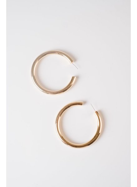 Trend Chunky Gold Hoop