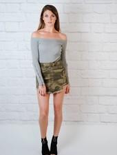 Skirt Destroyed Camo Skirt
