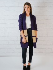 Cardigan Colorblock Cardigan