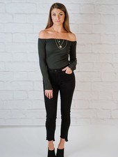 Bodysuit OTS Zip Sleeve Bodysuit