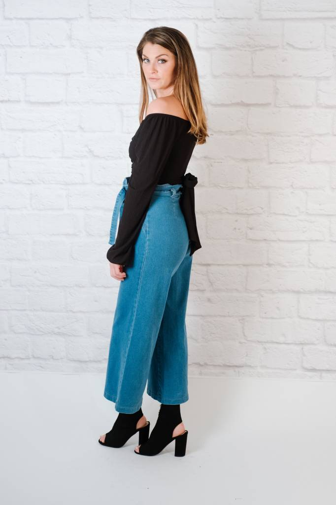 Pants Wide Leg Denim Pant