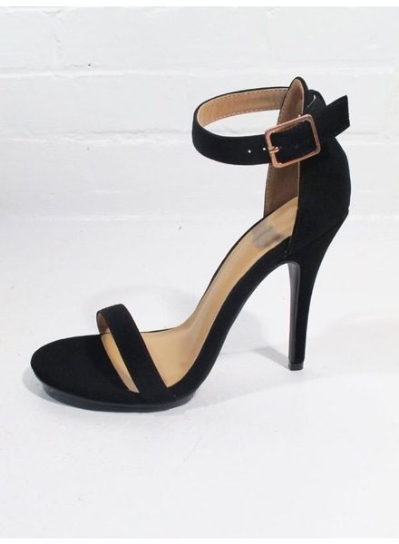 Pump Black minimal two strap pump *BACK IN STOCK!