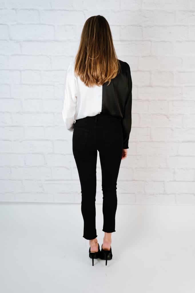 Bodysuit Black & White Bodysuit
