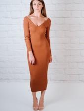 Midi OTS Midi Dress