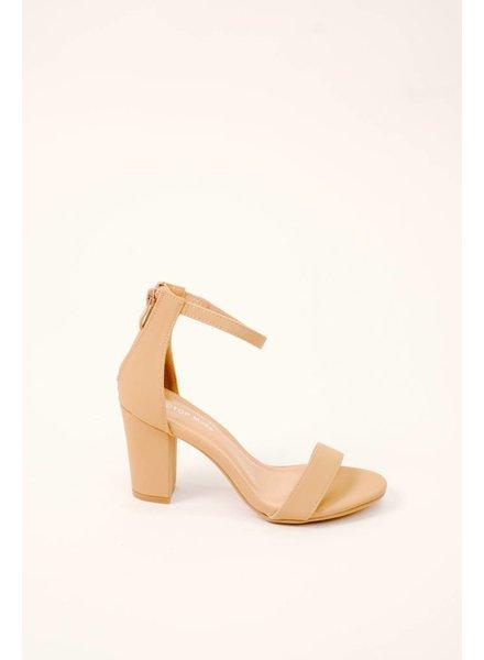 Dressy Block Heel 2 Strap