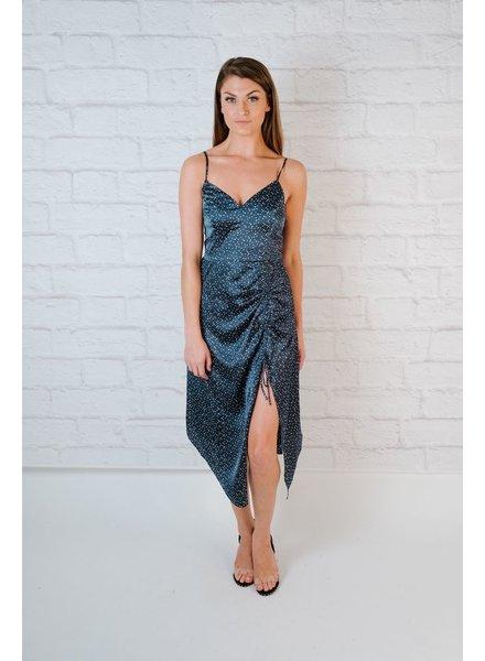 Midi Drawstring Midi Dress
