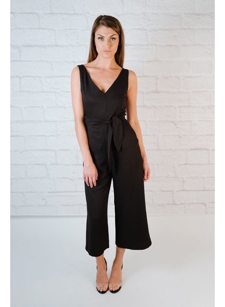 Jumpsuit Cutout Wrap Jumpsuit