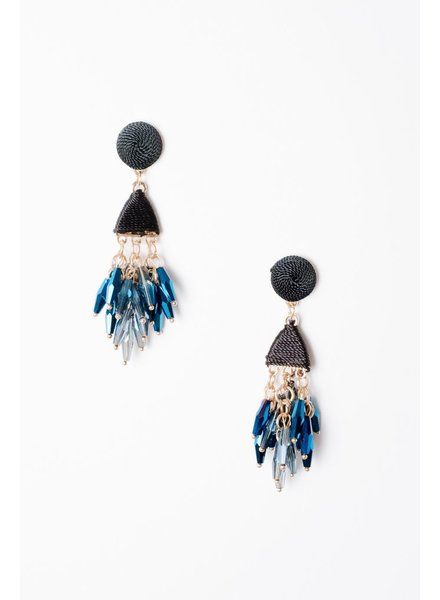 Trend Beaded Drop Earrings
