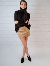 Skirt Taupe Aline Skirt