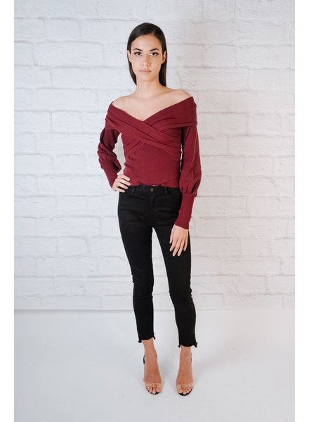 Sweater OTS Ribbed Top