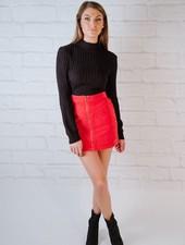 Skirt Red Cord Mini