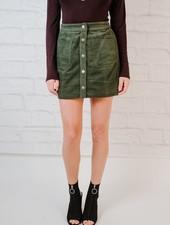 Skirt Button Cord Mini