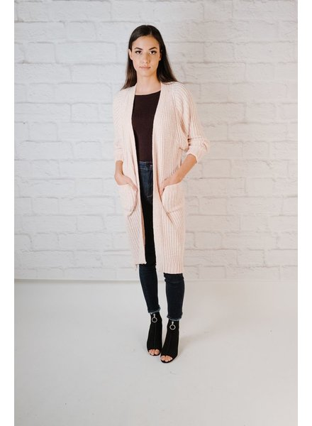 Cardigan Long Chenille Cardigan
