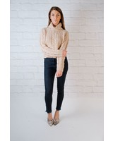 Knit Cropped Cable Knit