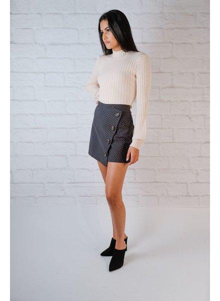 Skirt Dot and Button Mini