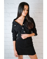 Lightweight Black Cord Jacket