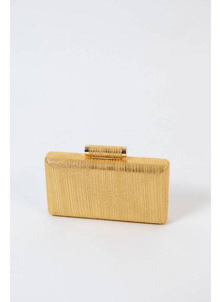 Clutch Gold metallic clutch