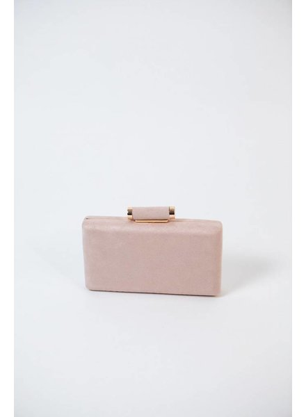 Clutch Beige Suede Envelope Clutch