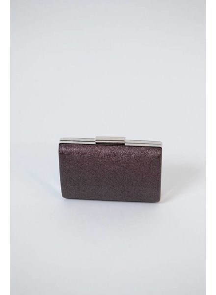 Clutch Textured Metallic Clutch