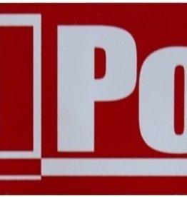 Progressive Screen Printing Redpoint Old Logo Sticker