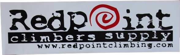 Progressive Screen Printing Redpoint New Logo Sticker