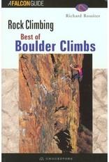 Falcon Falcon Guides Best of Boulder Climbs