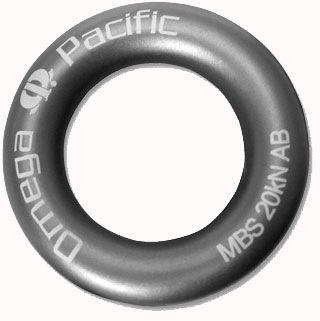 Liberty Mountain Omega Pacific Aluminum Rappel Ring