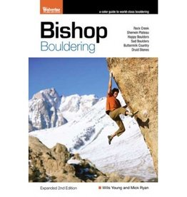 Wolverine Publishing Wolverine Bishop Bouldering 2nd Edition Guidebook