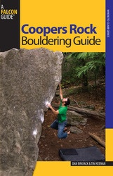 Falcon Falcon Coopers Rock Bouldering Guide