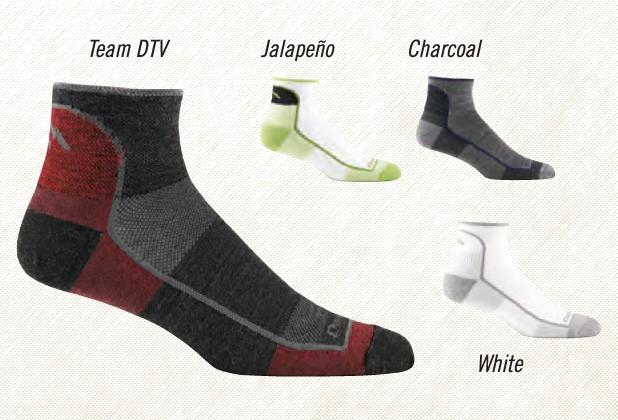 Darn Tough Darn Tough 1/4 Sock, Mesh, Wool