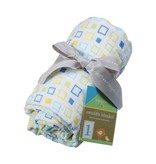 Angel Dear muslin swaddle blanket - square print