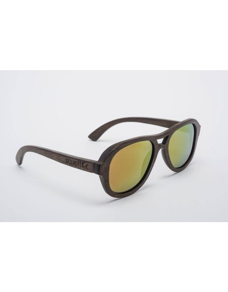 Swell Vision Aviator Brown with Fire Lens