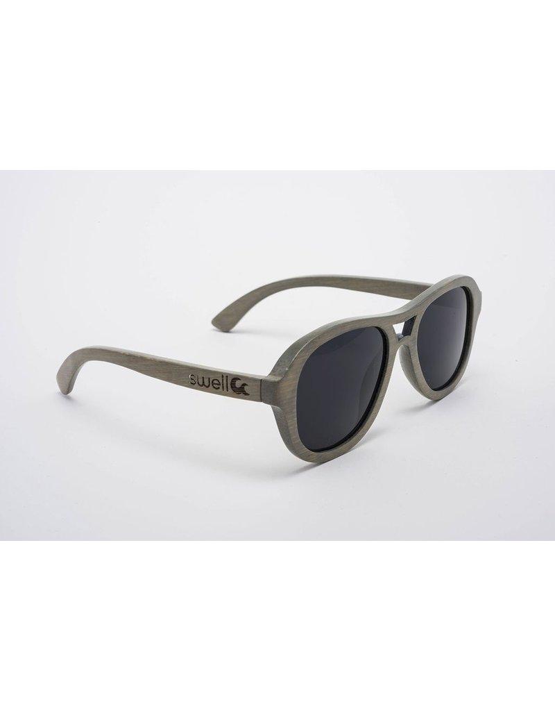 Swell Vision Aviator Platinum Gray with Smoke Lens