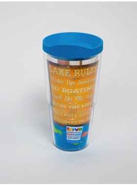 Tervis Tumbler Lake Rules - wra - 24 oz.