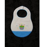 Rosalina Birthday Bib with Cupcakes