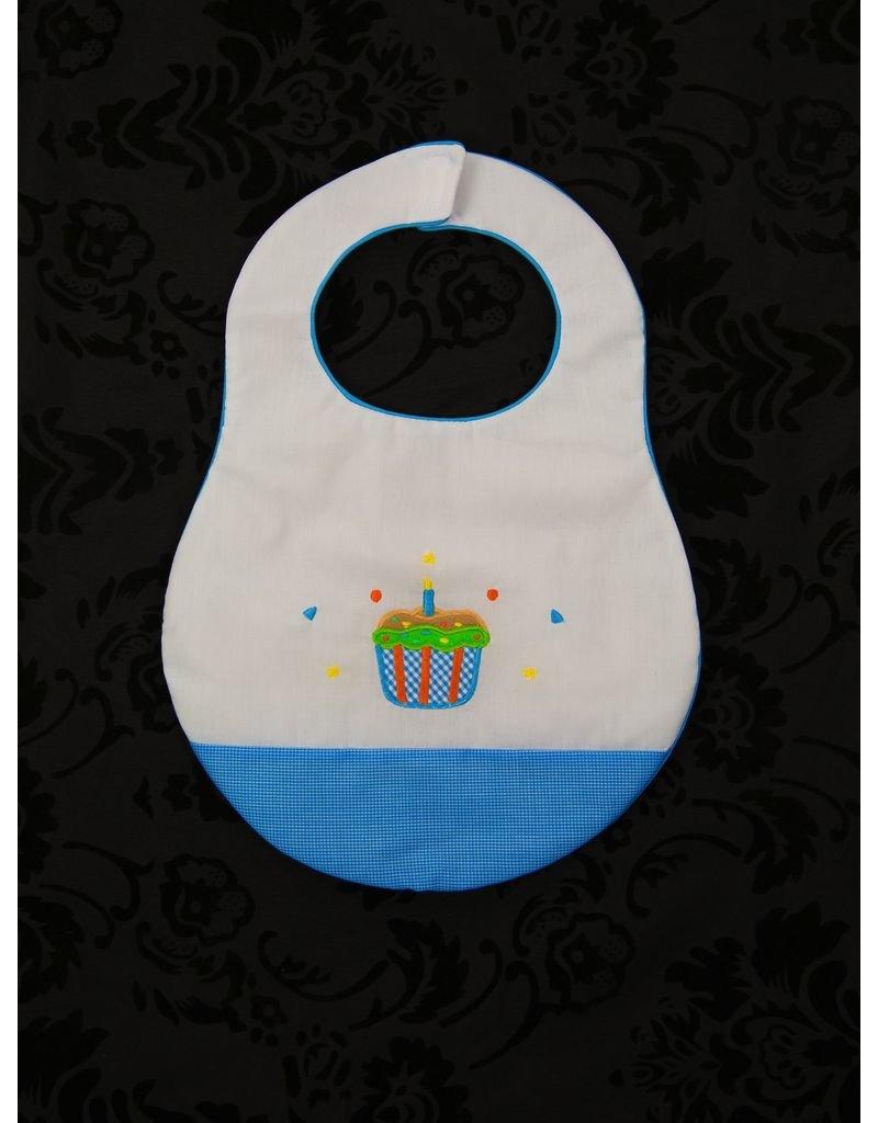 Rosalina Birthday Bib with Cupcakes by Rosalina