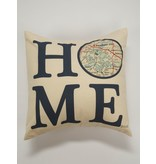 Julio Designs 16 in. Pillow with Lake Martin Map