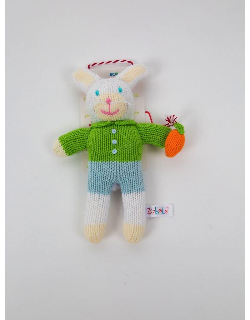 Renzo Boy Bunny Rattle
