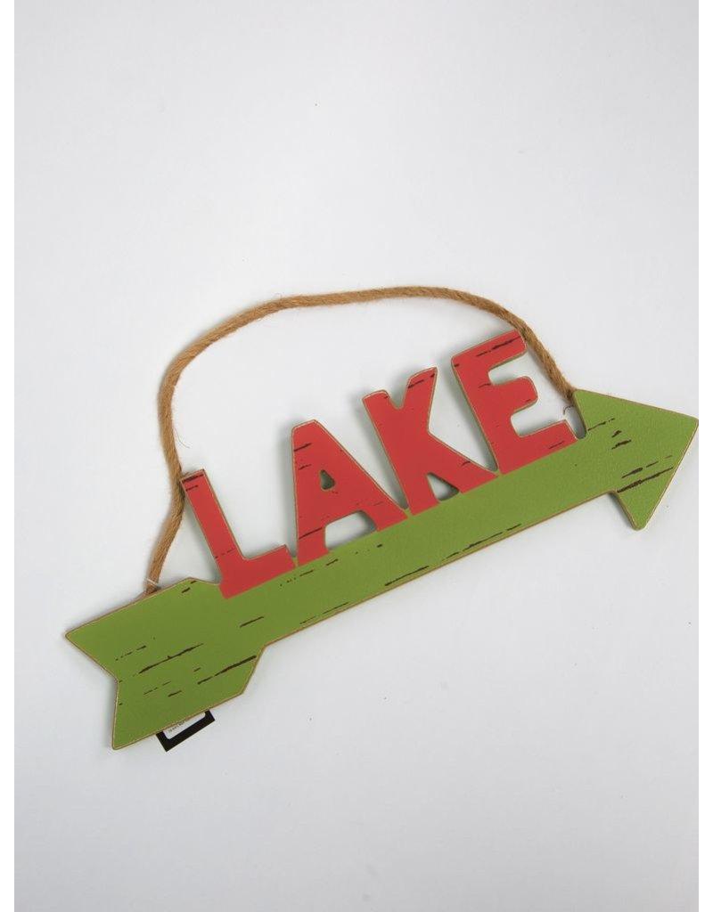 "Creative Co-op ""LAKE"" arrow"