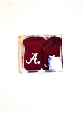Two Feet Ahead Alabama Collegiate Baby Booties