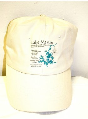 Coaster Stone Lake Martin baseball hat