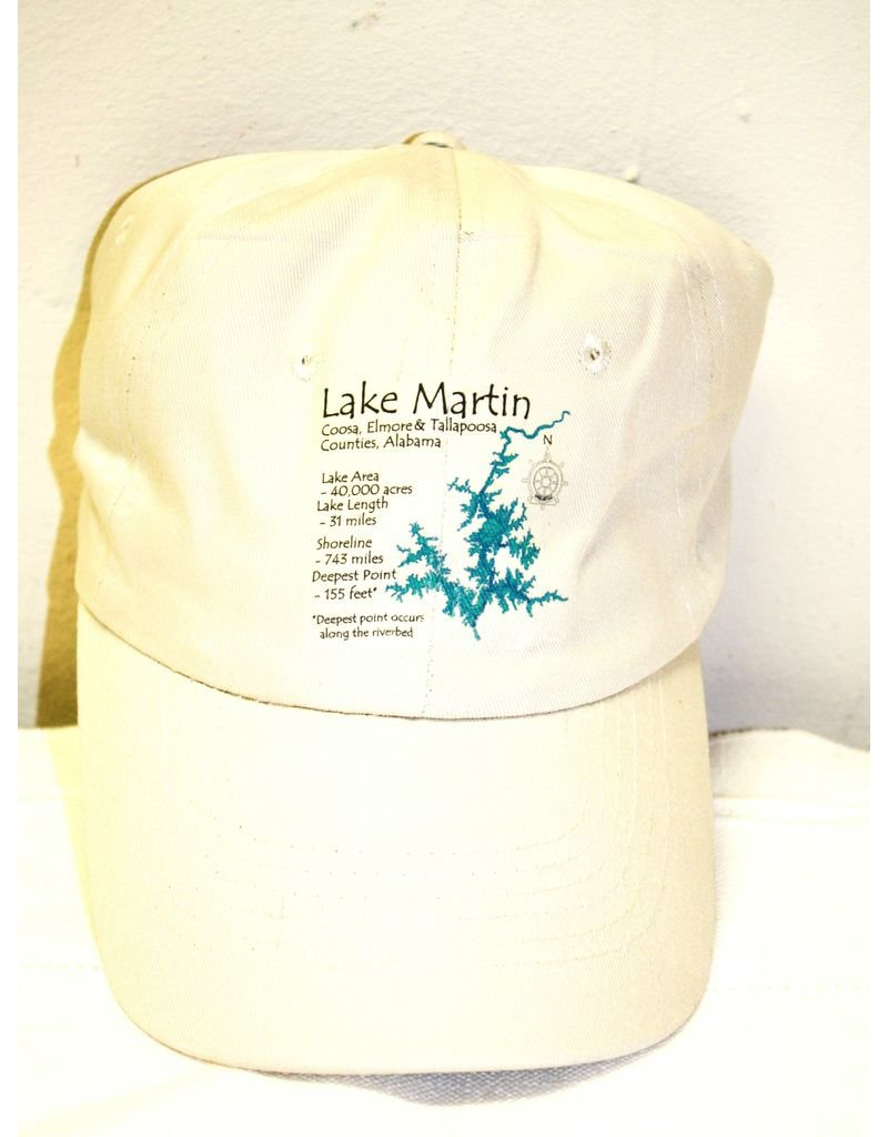 Coaster Stone Lake Martin baseball hat