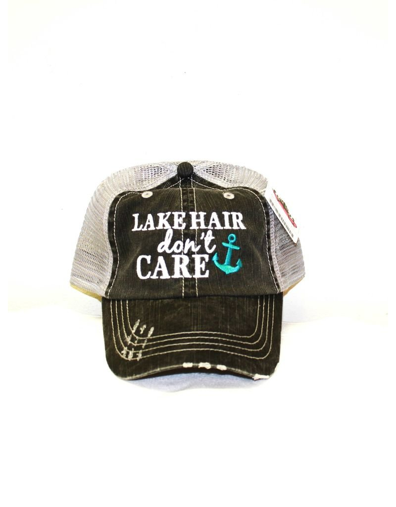 Katydid Collection Lake Hair Don't Care Trucker Hat