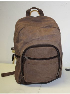 Occasionally Made Washed Canvas Backpack - Chestnut Brown
