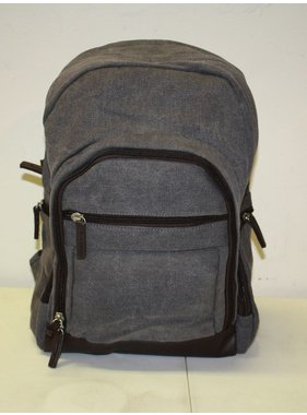 Occasionally Made Washed Canvas Backpack -  Steele Grey
